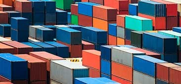 hydroprint colourful shipping containers